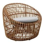Cane-Line - Fauteuil de jardin Nest rond
