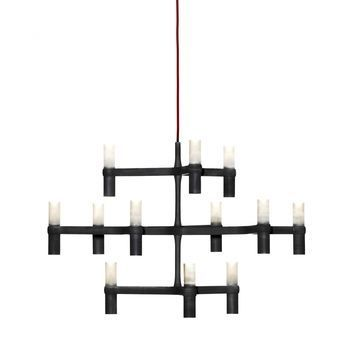Nemo - Crown Minor Kronleuchter - schwarz/lackiert/12 Lampen/Ø87cm