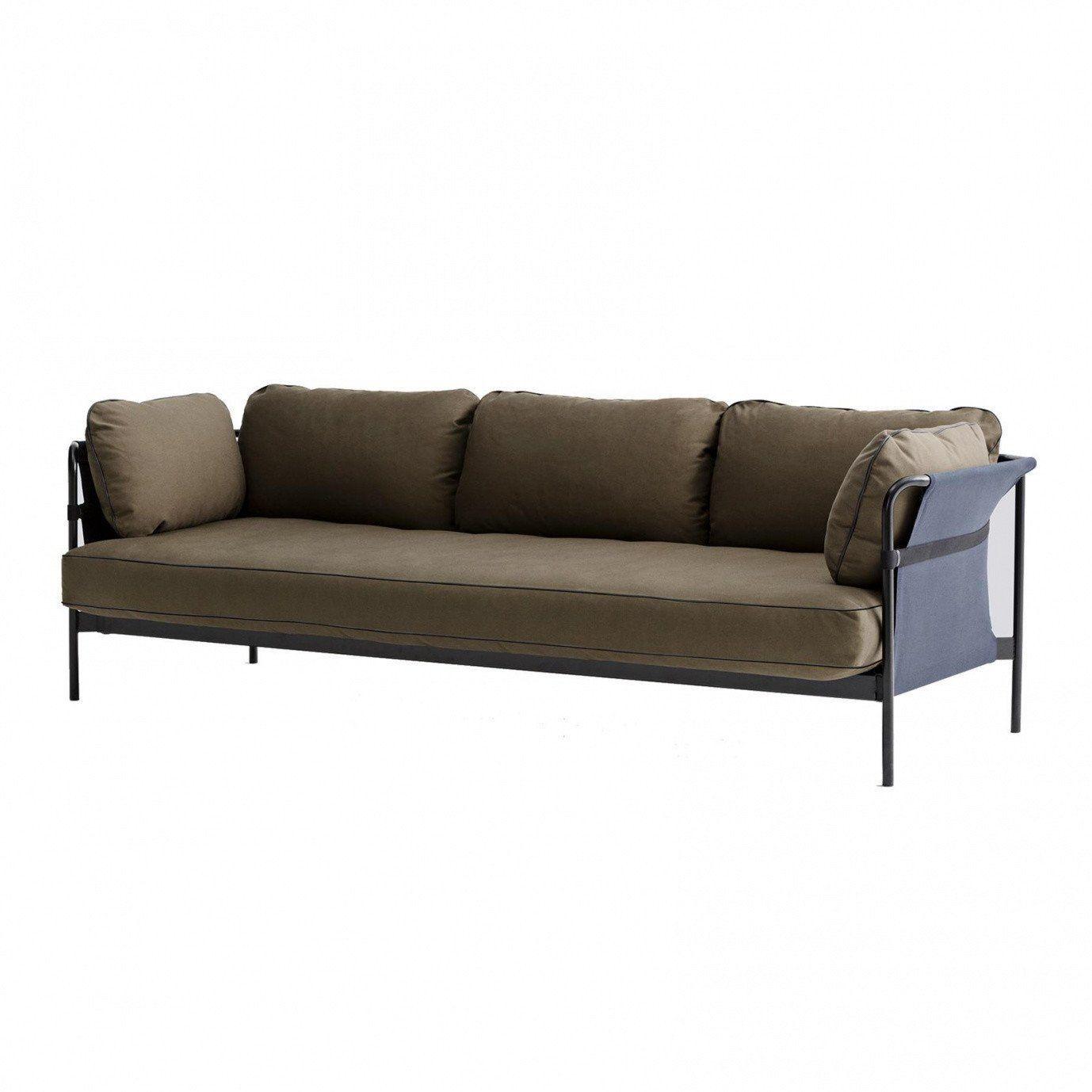 Awesome Hay Can Sitzer Sofa Grau Braunstoff Canvas Armyxx With Sofa Schwarz