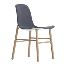 Kristalia - Chaise assise capitonnage une face Sharky
