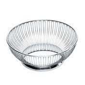 Alessi - Wire Basket 826 - stainless steel/glossy polished/large/round