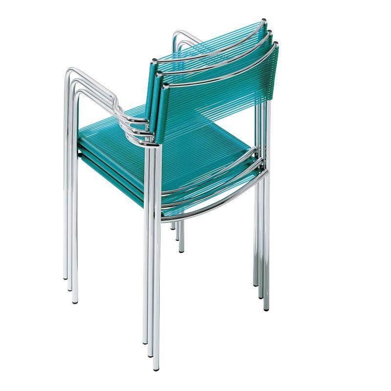 131 spaghetti armrest silla con reposabrazos alias for Sillas con reposabrazos