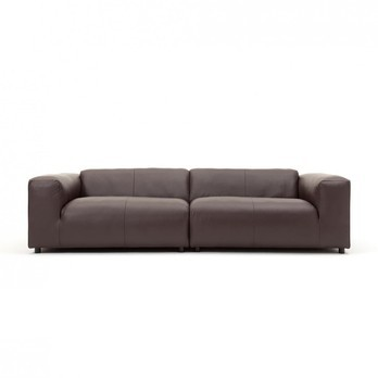 freistil 187 3-Seater Leather Sofa