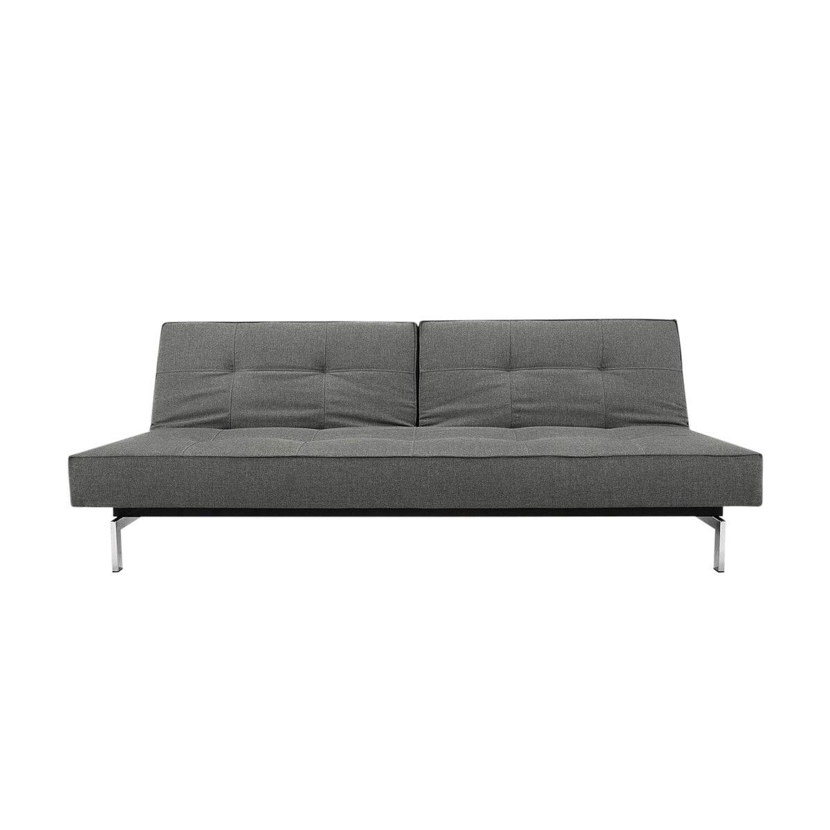 Splitback Sofa Bed Chrome Innovation Ambientedirect Com