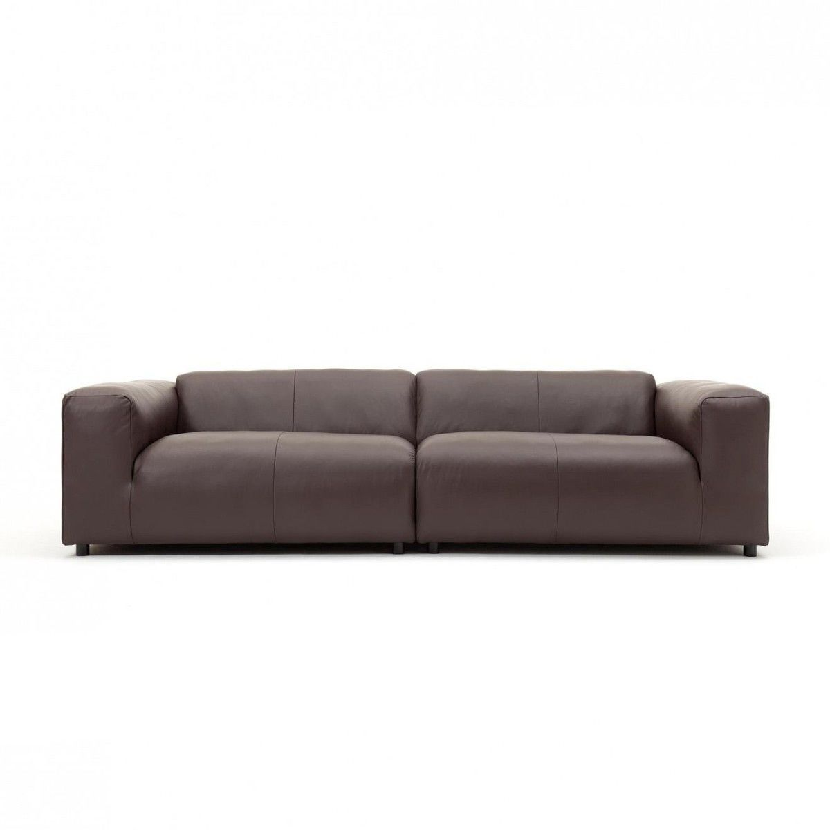 Ledersofa schwarz rolf benz  freistil 187 3-Seater Leather Sofa | freistil Rolf Benz ...