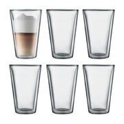 Bodum - Canteen Glas 0,4l 6er Set