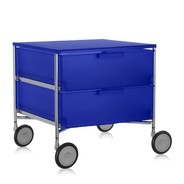 Kartell - Mobil 2 kabinet met wielen