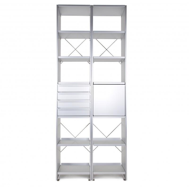 lehni aluminium etag re de bureau ambientedirect. Black Bedroom Furniture Sets. Home Design Ideas
