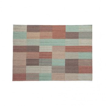 Nanimarquina - Blend 2 Wollteppich - mehrfarbig/Kilim: 100% afghanische Wolle/Dichte: 156.000 Knoten/m2/LxBxH 240x170x0.4cm/Gewicht:1.4 kg/m2