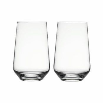 iittala - Essence Wasser Gläser Set 2tlg. - transparent/0.55l/H:13.3cm x Ø8.6cm