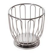 Alessi - Alessi Fruit Bowl 370 - stainless steel/stainless steel/H 22,5cm