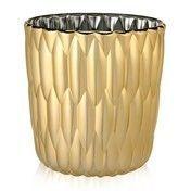 Kartell - Jelly Vase   - gold/Ø23.5cm/H 25cm