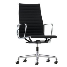 Vitra - Chaise de bureau EA 119 Alu Chair chromé