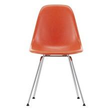 Vitra - Eames Fiberglass Side Chair DSX verchromt