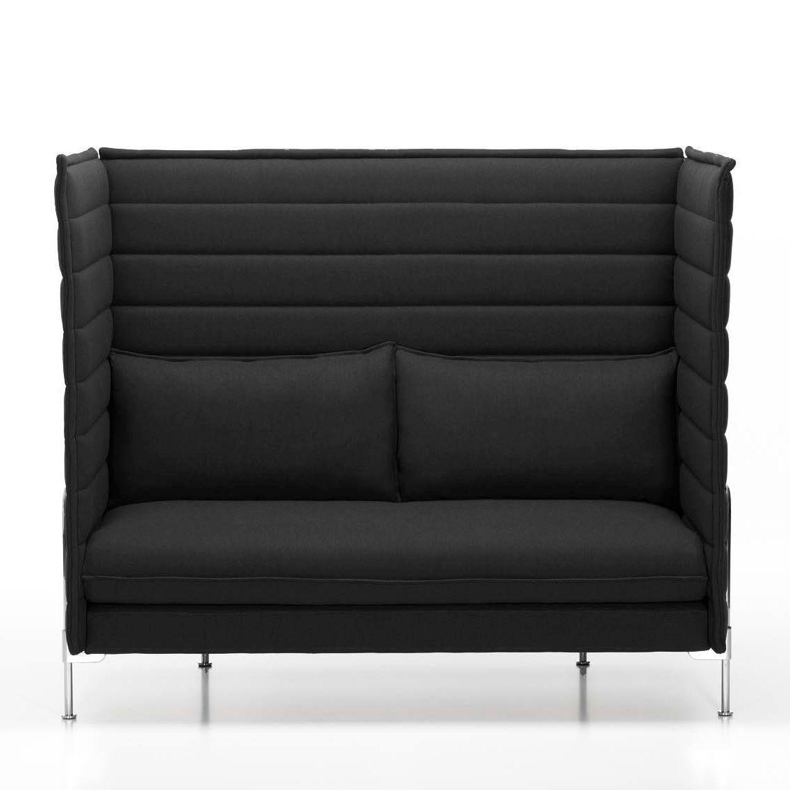 alcove highback 2 sitzer sofa vitra. Black Bedroom Furniture Sets. Home Design Ideas