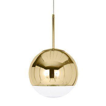 Tom Dixon - Mirror Ball Pendant Pendelleuchte Gold - gold/glänzend/Ø 25 cm