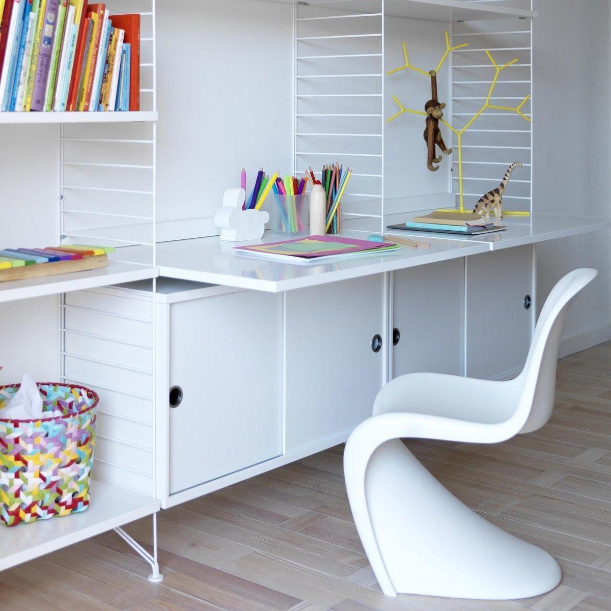 string work desk string. Black Bedroom Furniture Sets. Home Design Ideas