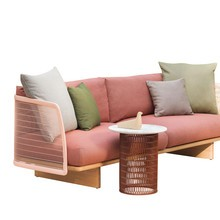 Kettal - Kettal Mesh Outdoor 3-Sitzer Sofa