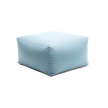 Sitting Bull - Zipp Stool/Side Table - light blue/LxWxH 75x75x36cm