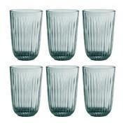 Kähler - Ensemble de 6 verres coloré Hammershøi