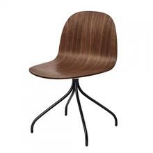 Gubi - Gubi 2D Dining Chair - Draaistoel
