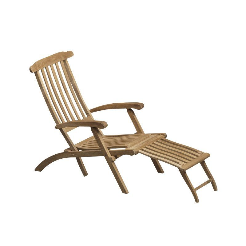 Skagerak   Steamer Deck Chair   Teak/163x58x100cm