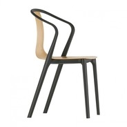 Vitra - Belleville Armchair Wood Stuhl