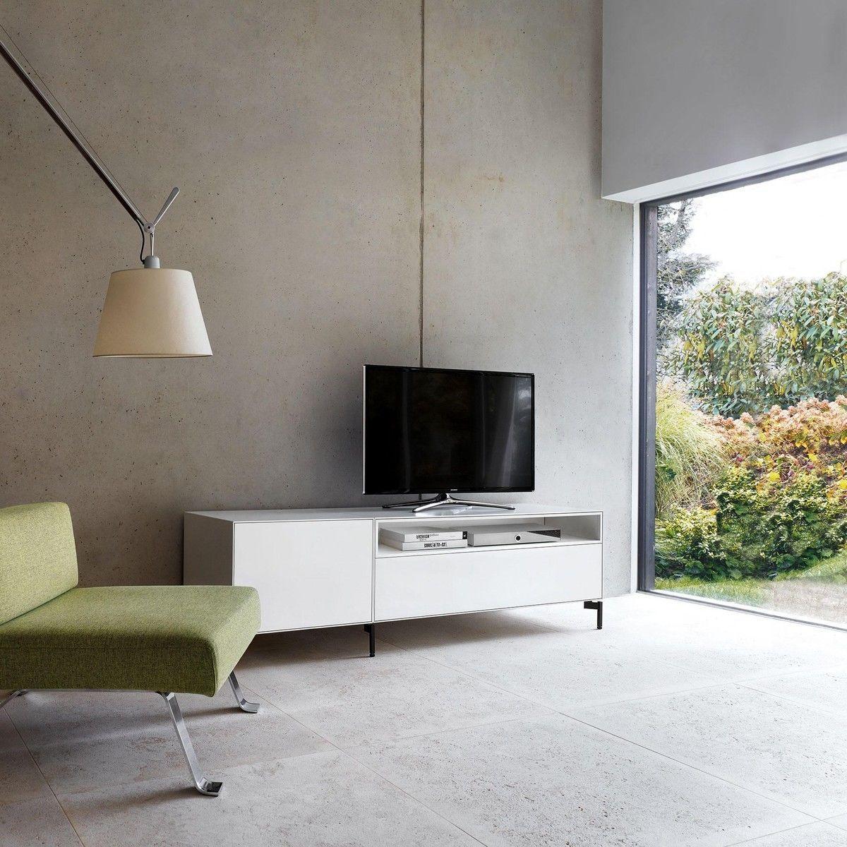 Nex Pur Box Tv Board 180×50 5x48cm Piure Ambientedirect Com # Meuble Tv Nesx