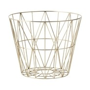 ferm LIVING - Wire Brass - Draadmand