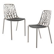 Fast - Forest Garden Chair 2-Piece Set Incl. Pads