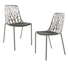 Fast - Forest Garden Chair 2-Piece Set Incl. Pads