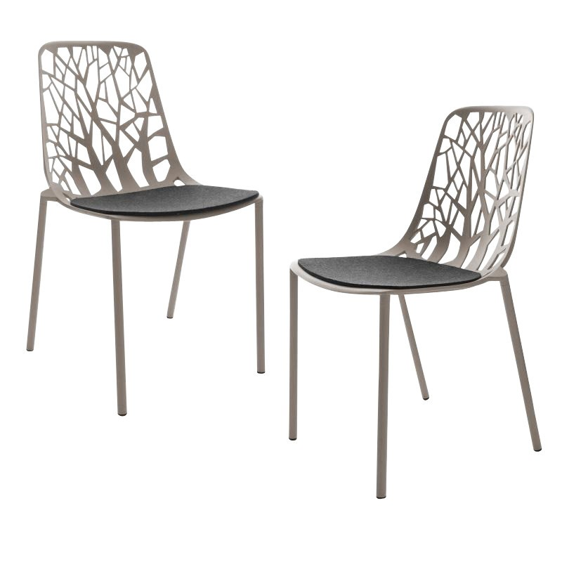 Fast Forest Garden Chair 2 Piece Set