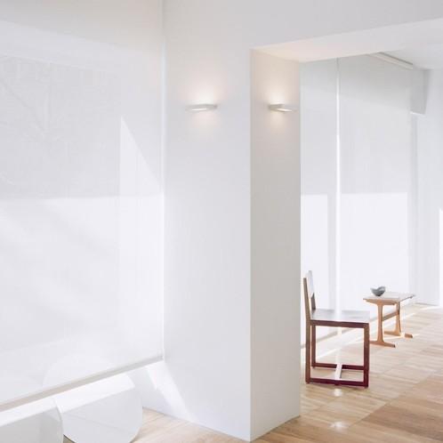 Serien - SML LED-Wandfluter Aluminium poliert