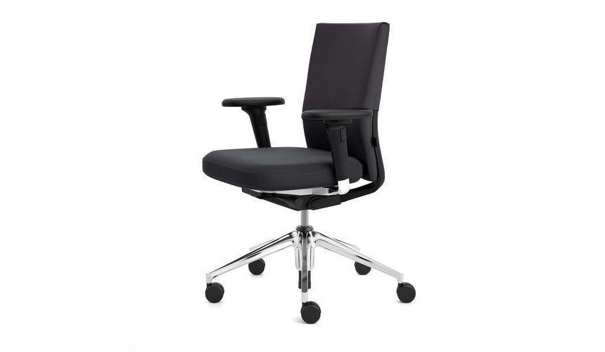 Id soft citterio chaise de bureau pivotante vitra for Chaise de bureau vitra prix