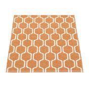 pappelina - Ants Teppich 70x90cm - hell orange/vanille/wendbar