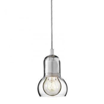 &tradition - Bulb Pendelleuchte - transparent/PVC Kabel transparent/ohne Leuchtmittel