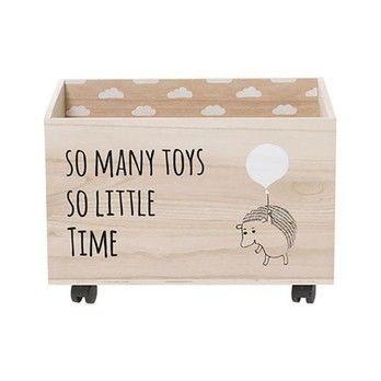 Bloomingville - Ori Aufbewahrungsbox für Kinder - natur/LxBxH 50x35x35cm