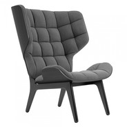NORR 11 - Mammoth Lounge Chair Black Oak Base