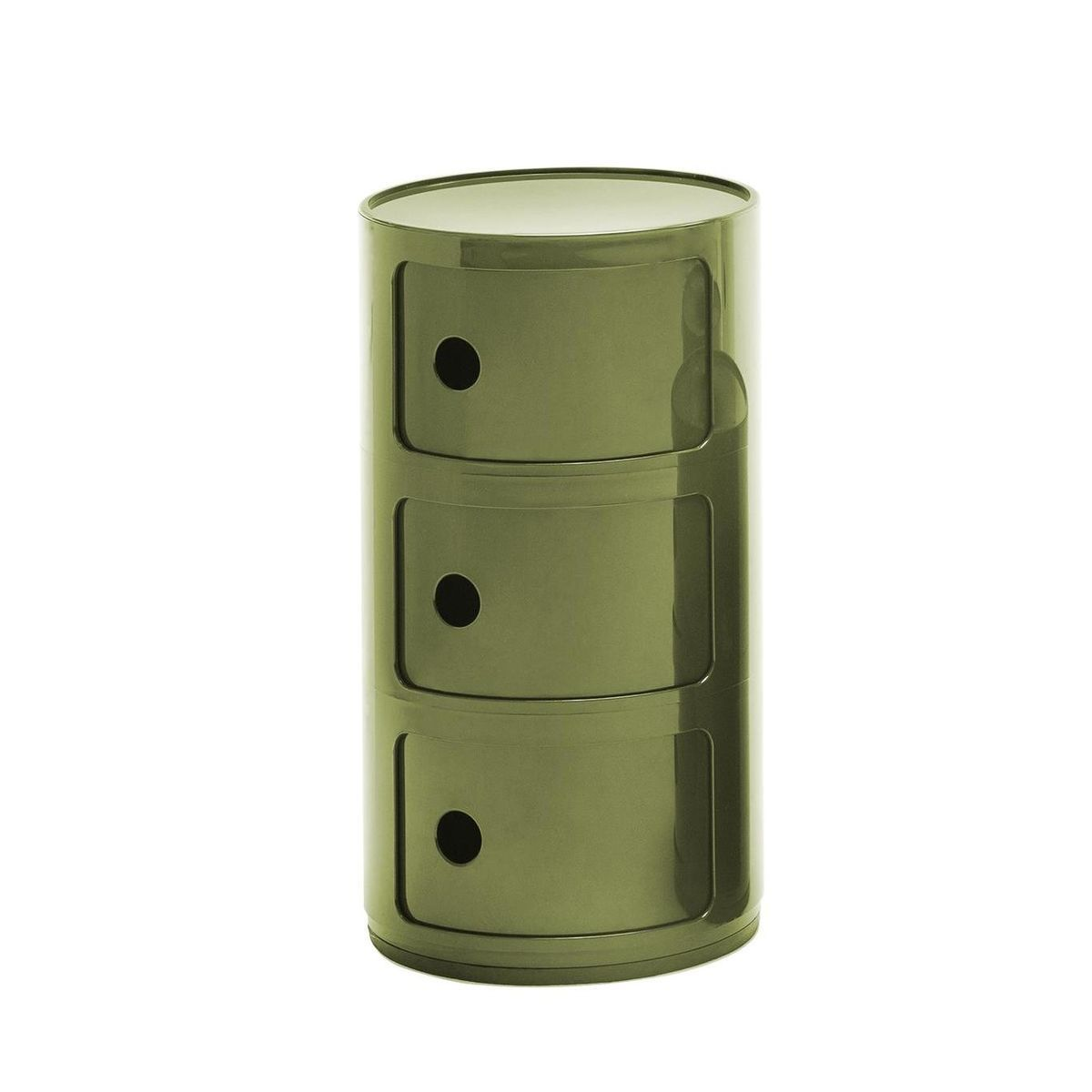 componibili  container  kartell  ambientedirectcom - kartell  componibili  container  greenglossy
