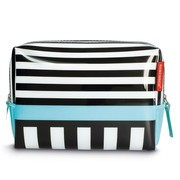 Remember - Black Stripes Washbag Kulturbeutel L
