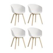 HAY - HAY About a Chair 22 - Lot de 4 fauteuils
