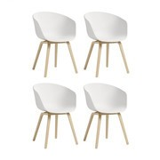 HAY - HAY About a Chair 22 - Set de 4 sillones