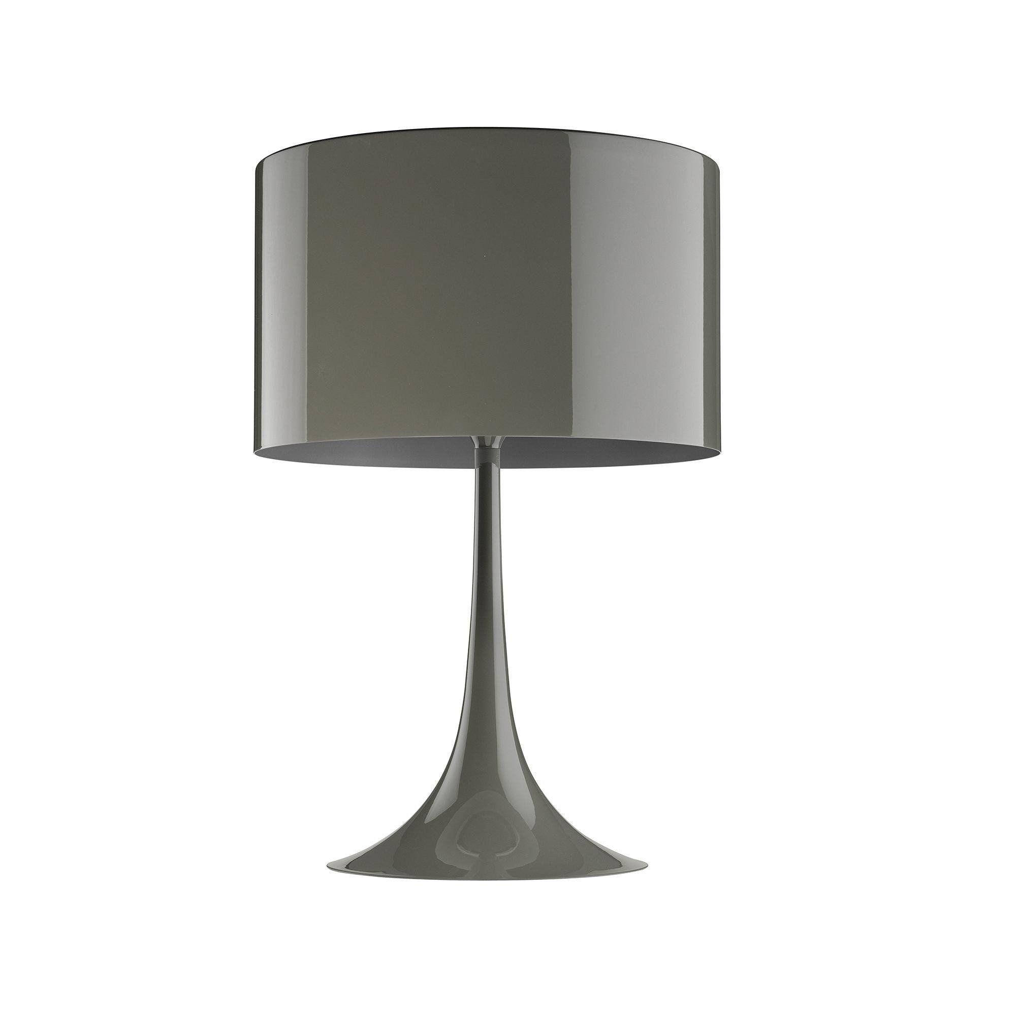 ... Flos   Spun Light T2 Table Lamp   Mud/glossy ...