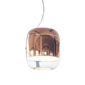 Prandina - Gong S3 Pendelleuchte - kupfer/metallisiert/H 37,5cm, Ø 30cm