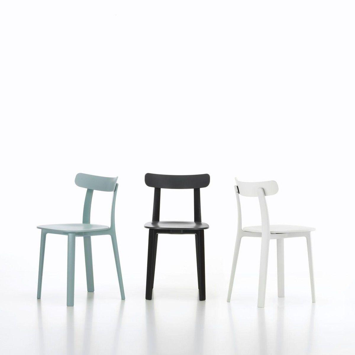 vitra all plastic chair silla