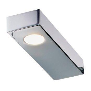 - Flat 2 LED Wandleuchte - chrom/3000K/370lm/LxBxH 16.2x5x2.5cm