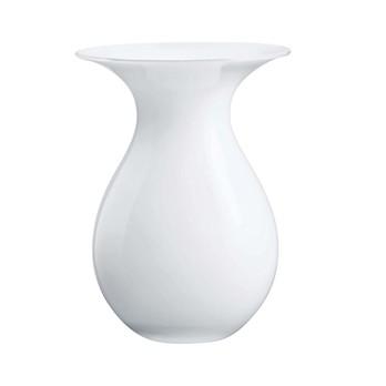 Holmegaard - Shape Vase - weiß/Größe 1/H:17cm