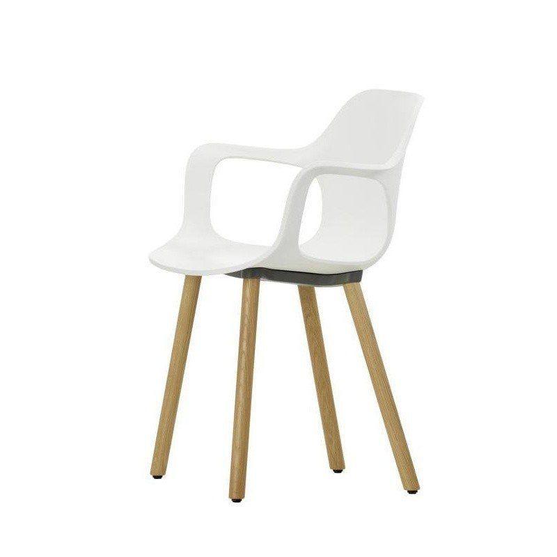 Hal Armchair Wood Vitra Ambientedirect Com