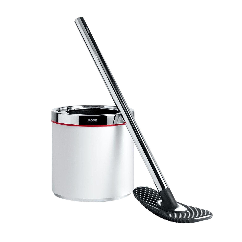 Rode bath mafalda silicone toilet cleaner hygienic ambientedirect - Set de table silicone duni ...