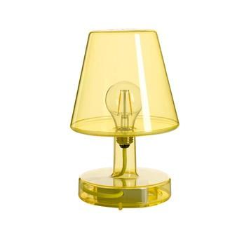 Fatboy - Fatboy Transloetje LED Tischleuchte mit Akku - gelb/2700K/Akkulaufzeit 20St./H 25.5cm/3 Stufen Dimmer